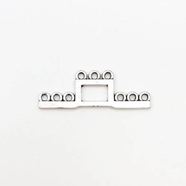 Link Anti Silver 35mm - LK0035 - Crystal Stones