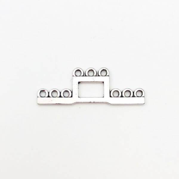 Link Anti Silver 35mm – LK0035 – Crystal Stones
