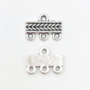 Link barra Anti Silver 16,2mm - LK00162 - Crystal Stones