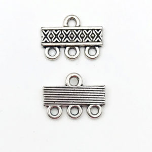 Link barra Anti Silver 16,3mm - LK0016 - Crystal Stones