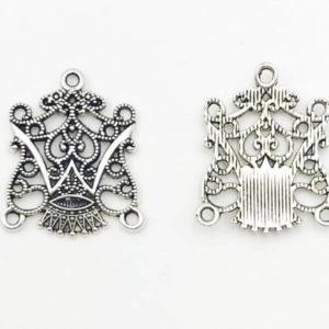 Link fantasia Anti Silver 24,220,2mm - LK002420 - Crystal Stones