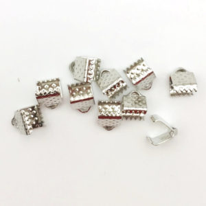 Terminale a barra Silver 6mm - TR0006 - Crystal Stones