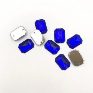 3024-1014-118 2 Ottagono piatto acrilico Cobalt 10x14mm