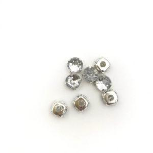 cb34-101 2 Tondo incastonato acrilico Anti SilverCrystal ss34