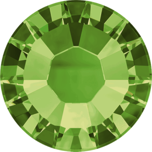 Flatback Pietra Termoadesiva Hotfix Olivine 124 - Xilion 2038 - Crystal Stones