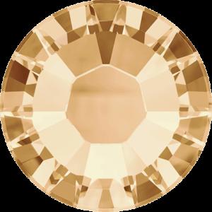 Flatback Pietra Termoadesiva Hotfix Crystal Golden Shadow 140 - Xilion 2038 - Crystal Stones