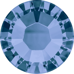 Flatback Pietra Termoadesiva Hotfix Montana 145 - Xilion 2038 - Crystal Stones