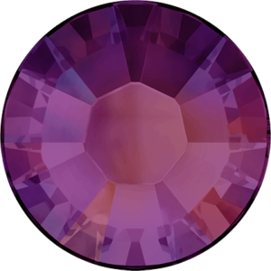 Flatback Pietra Termoadesiva Hotfix Crystal Volcano - Xilion 2038 - Crystal Stones